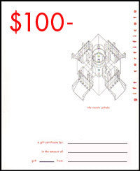 William Stout Gift Certificate - $100