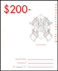 William Stout Gift Certificate - $200