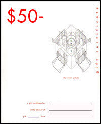 William Stout Gift Certificate - $50