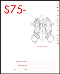 William Stout Gift Certificate - $75