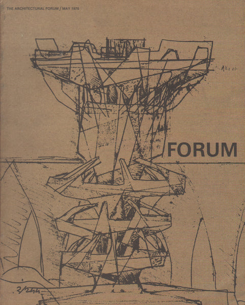 Architectural Forum May 1970: Paolo Soleri