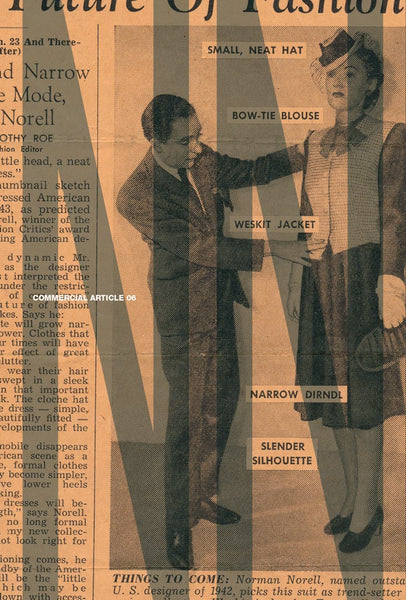 Commercial Article # 6 Norman Norell