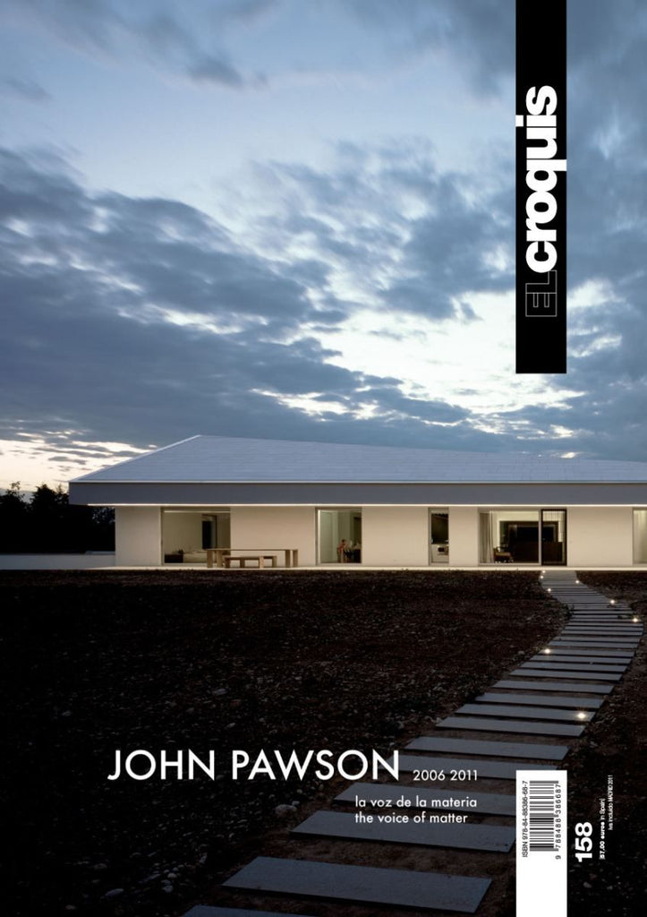El Croquis 158: John Pawson - The Voice of Matter