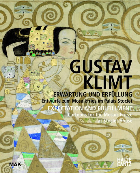 Gustav Klimt   Expectation and Fulfillment  Cartoons for the Mosaic Frieze at Stoclet House