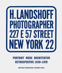 H. Landshoff Photographer 227 E 57 Street New York 22