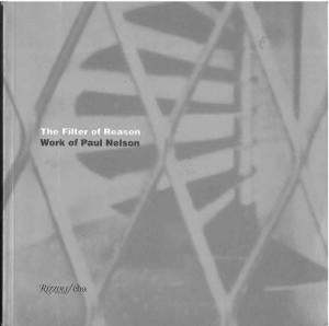 The Filter of Reason  Work of Paul Nelson