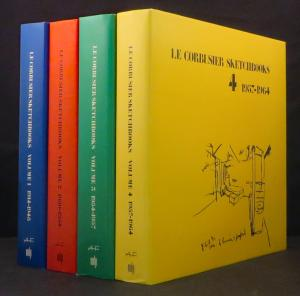 Le Corbusier Sketchbooks  4 Volumes