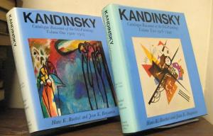 Kandinsky; catalogue raisonne of the oil-paintings, volume one: 1900-1915; volume two: 1916-1944