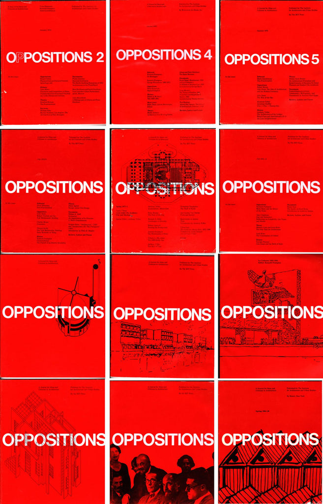 Oppositions 26: Spring 1984
