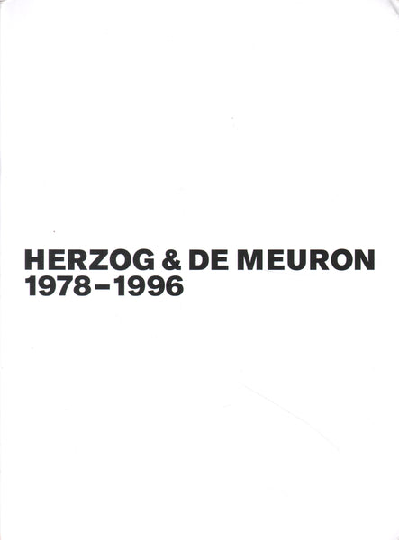 Set Mack, Herzog & de Meuron Bd./Vol. 1-3