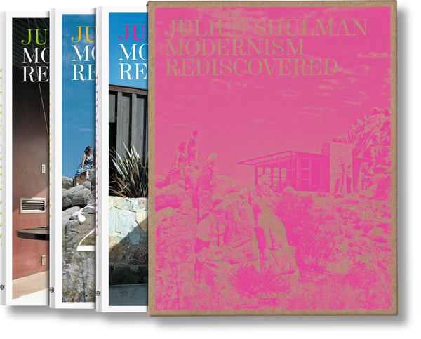 Julius Shulman: Modernism Rediscovered (3 volumes) (Multilingual Edition)