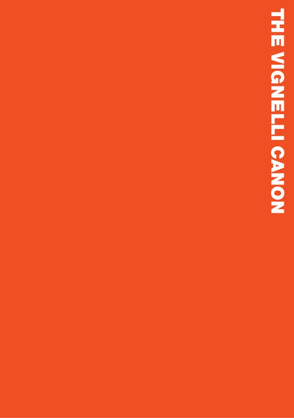 The Vignelli Canon