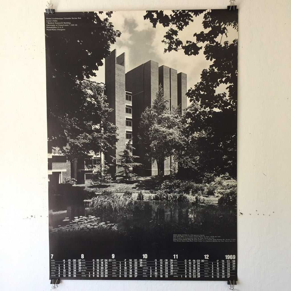 Louis I. Kahn - Medical Research Bldg (Poster)