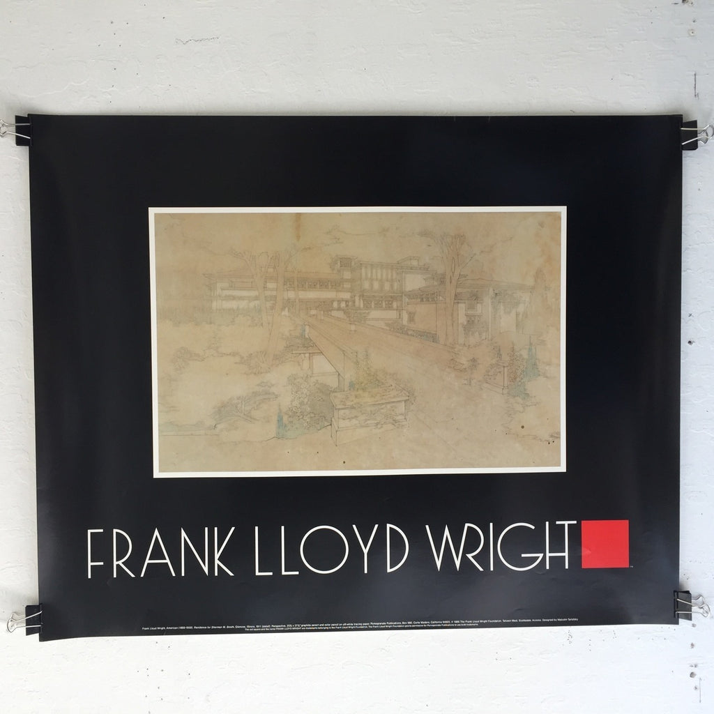 Frank Lloyd Wright - Residence Of Sherman M. Booth (Poster)