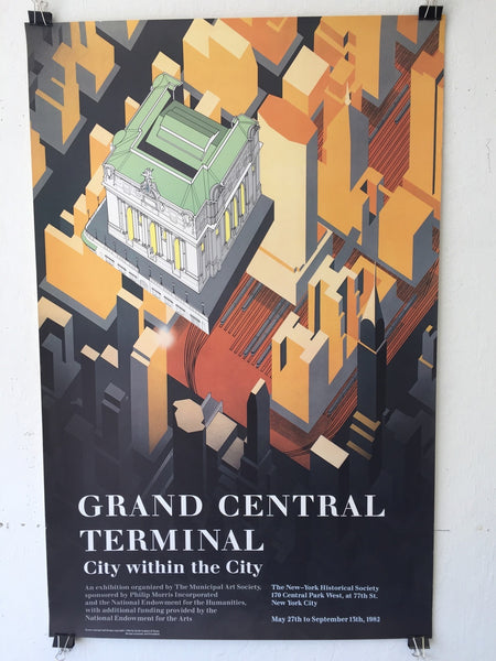 Grand Central Terminal - City Within The City (Poster)