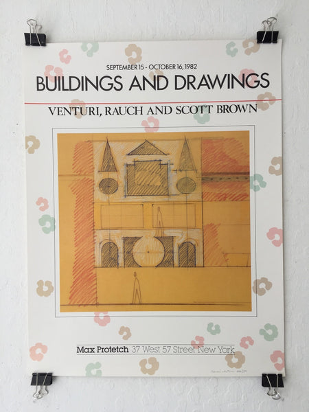 Venturi, Rauch, Scott Brown - Buildings And Drawings (Poster)