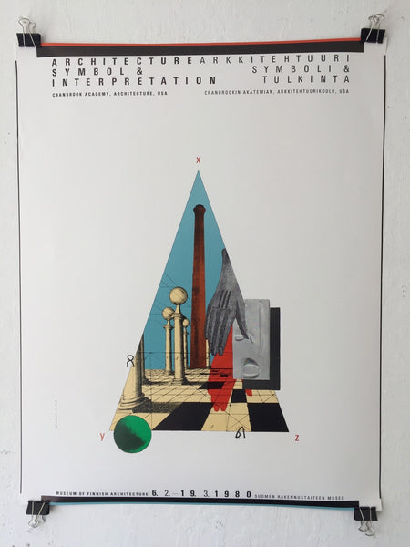 Architecture Symbol & Interpretation/Cranbrook (Poster)