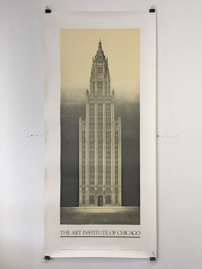 Art Institute Of Chicago - Competition For The New Tribune Bldg (Poster)