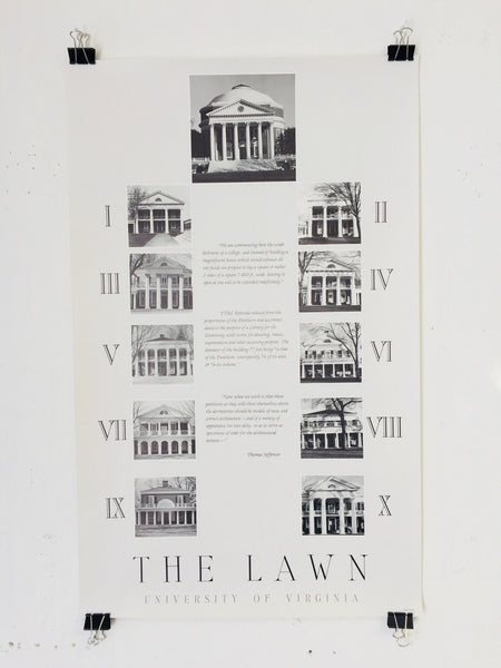 The Lawn - University Of Virginia (Poster)