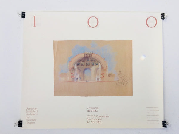 American Institute Of Architects - San Francisco Chapter - Centennial 1882-1982 (Poster)