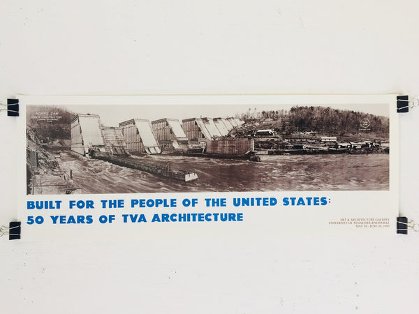 TVA - Built For The People Of The United States (Poster)