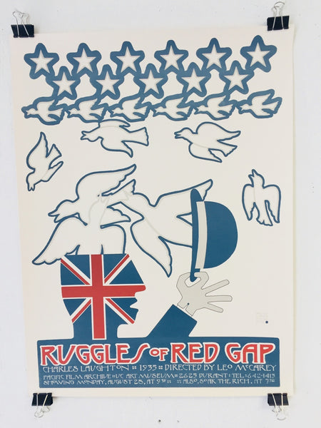 David Lance Goines - Ruggles Of Red Gap (Motion Picture) (Poster)