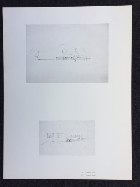 Mies van der Rohe - Country House / Hillside House (Poster)