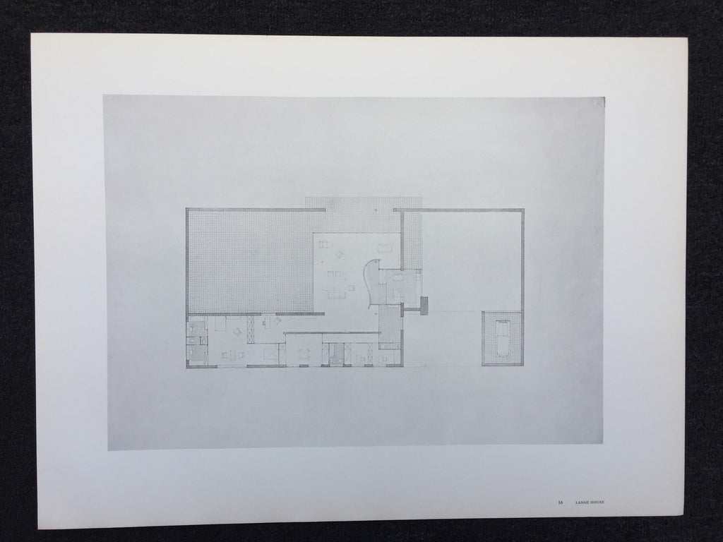 Mies van der Rohe - Lange House (Poster)