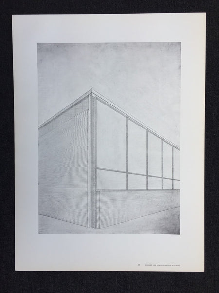 Mies van der Rohe - Library And Administration Bldg (Poster)