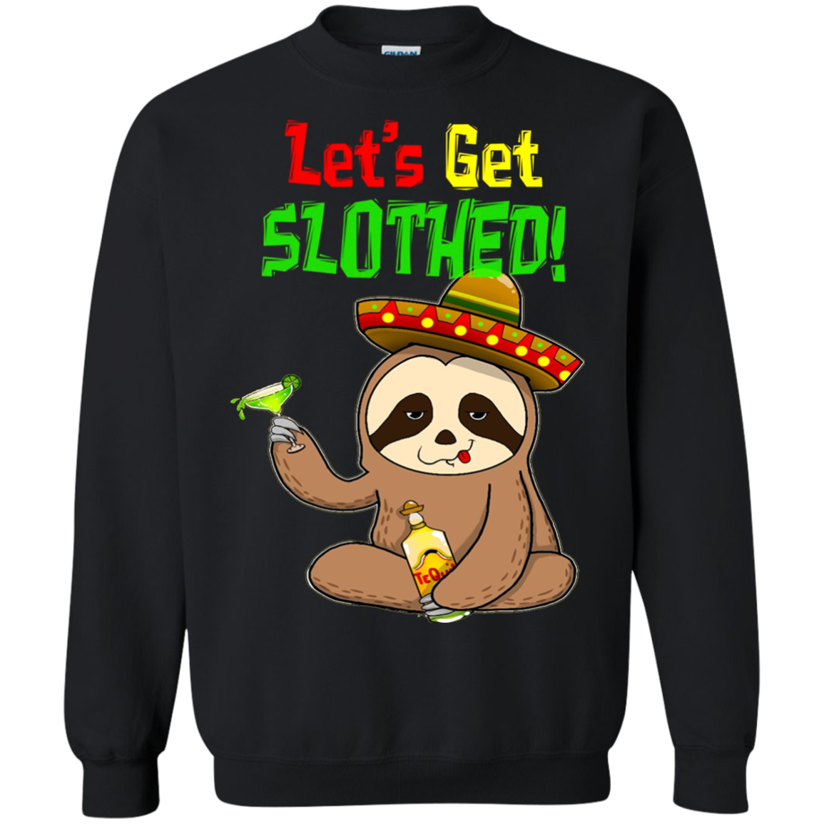 b2d03552a Sloth Cinco De Mayo Shirt Funny Get Slothed Drinking T shirt hoodie sweater