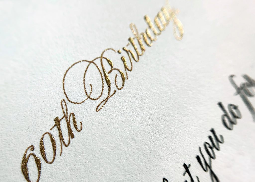 gold ink calligraphy by kestrel montes