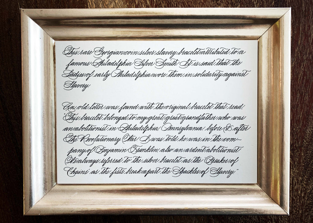 spencerian calligraphy by kestrel montes