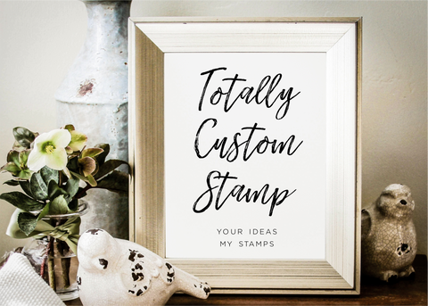 Totally Custom Stamp-custom stamp-Ink Me This
