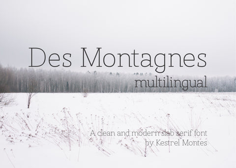 Des Montagnes Multilingual Thin Serif Font-wedding invitation font-Ink Me This