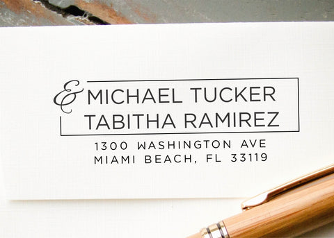 Self-inking Return Address Stamp #033-custom stamp-Ink Me This