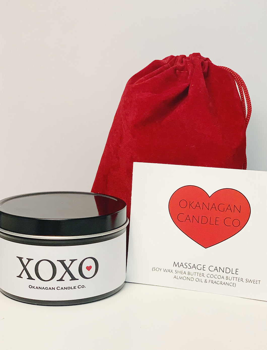 Valentines Massage Candle