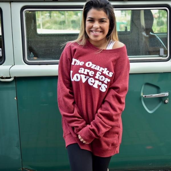 The Ozarks are for Lovers Sweatshirt