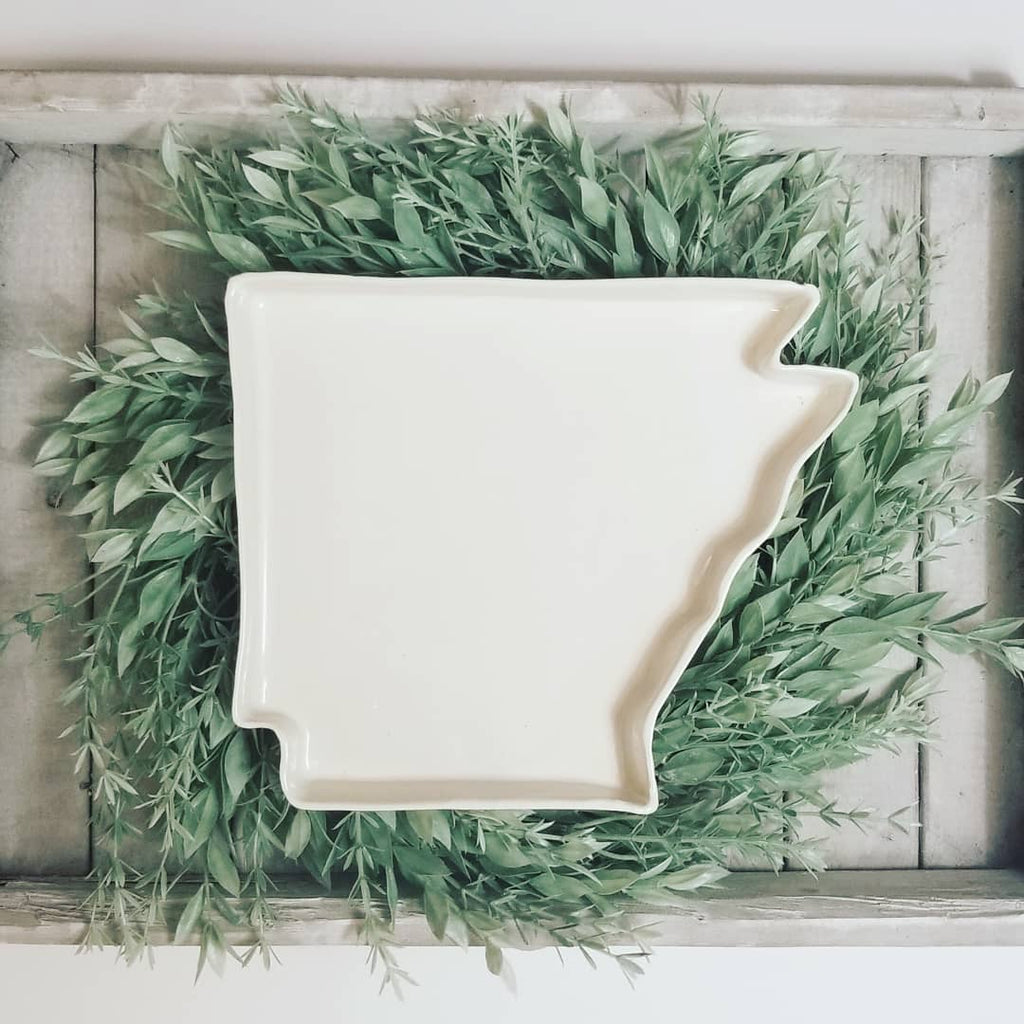 White Arkansas Tray