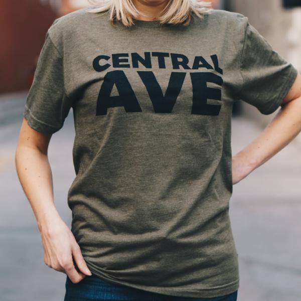Central Ave T-Shirt (Military Green)