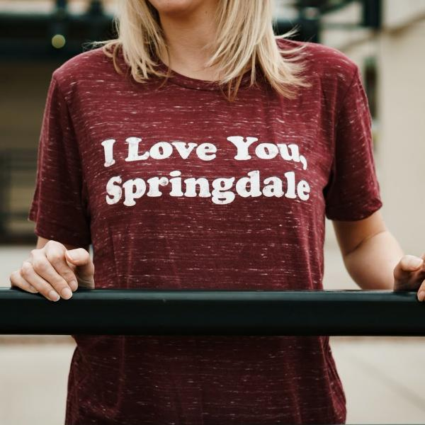 I Love You, Springdale T-Shirt (Two colors available)
