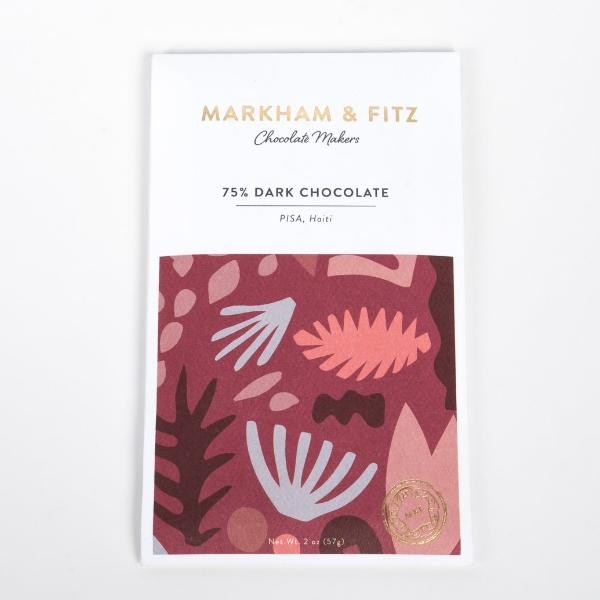 Markham & Fitz - 75% Haiti Dark Chocolate