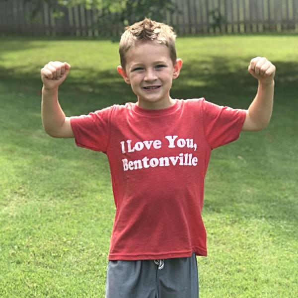I Love You Bentonville Youth T-Shirt