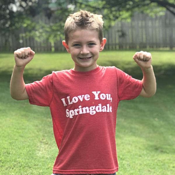 I Love You Springdale Youth T-Shirt