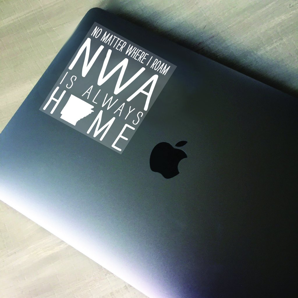 NWA Always Home Decal
