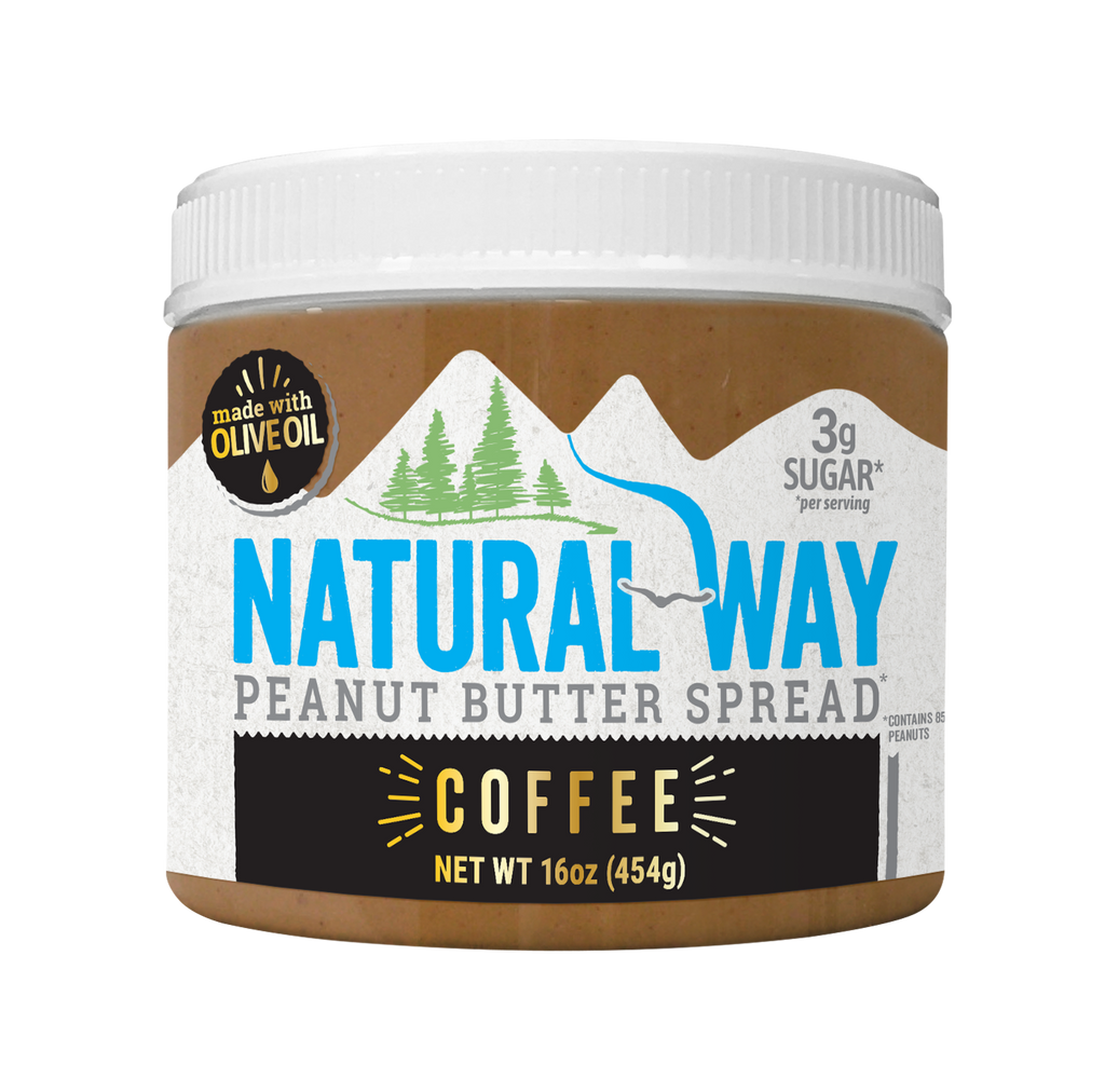 Natural Way Peanut Butter Coffee Flavor