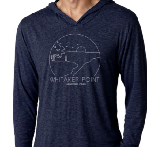 Whitaker Point Hawksbill Crag Hoodie (Navy)