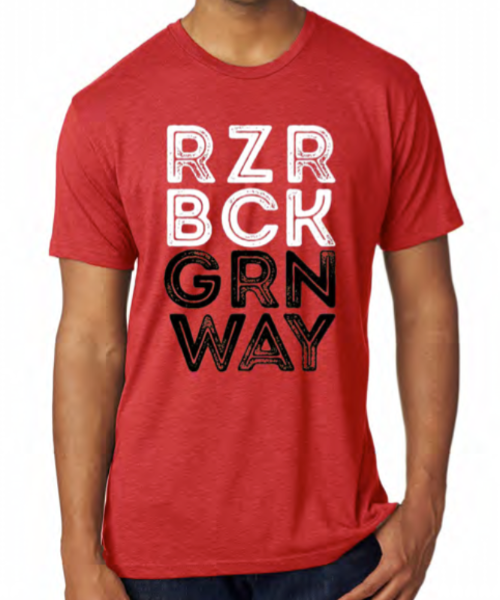RZRBCK GRNWAY T-Shirt (Red)
