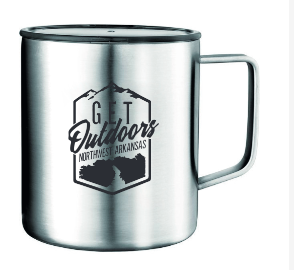 Get Outdoors 14 ounce Stainless Steel Camp Cup