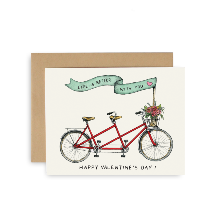 Happy V-Day Greeting Card