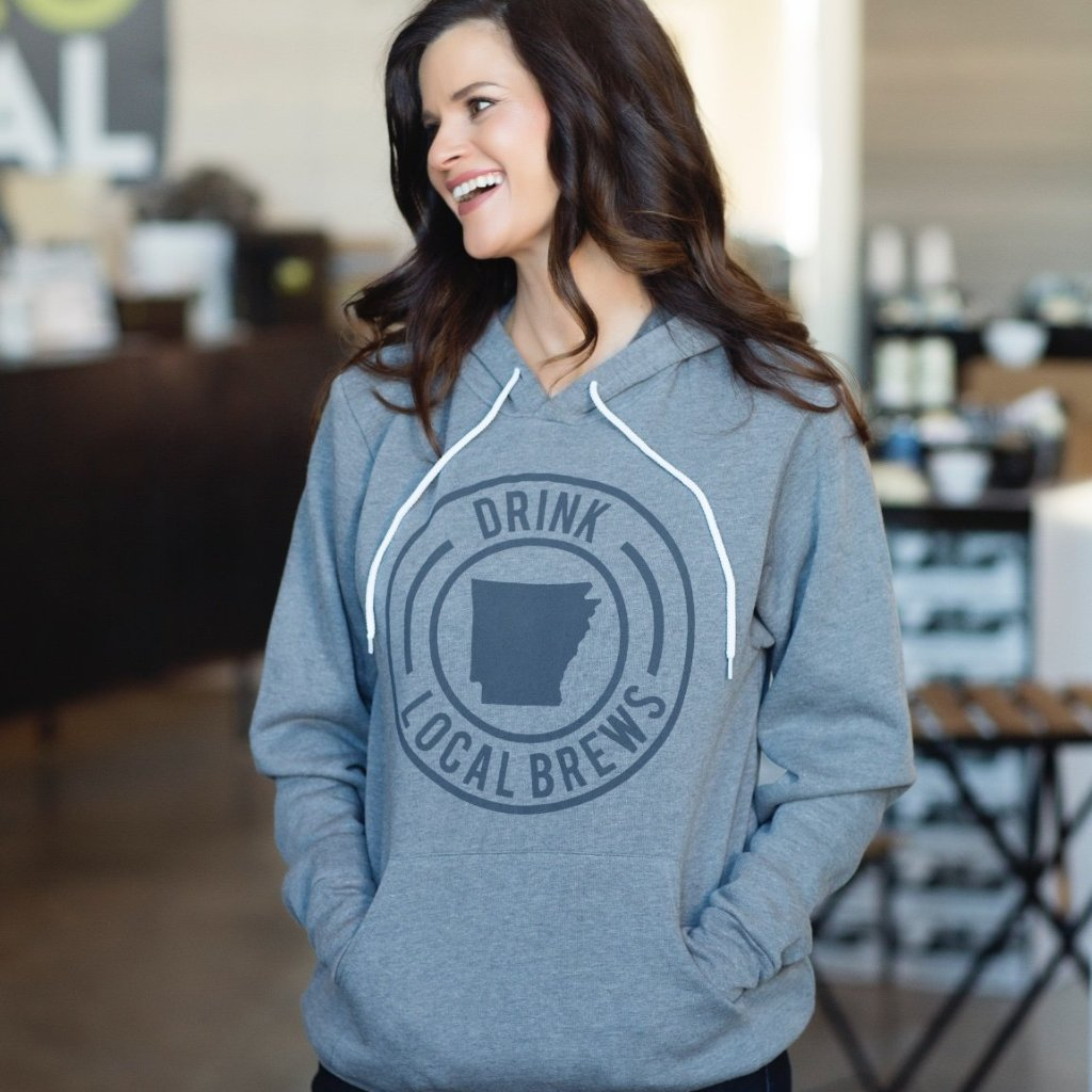 Drink Local Brews Hoodie